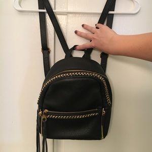 NWOT Black Rebecca Minkoff Mini Backpack