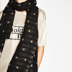 Zara Stars Blanket Scarf