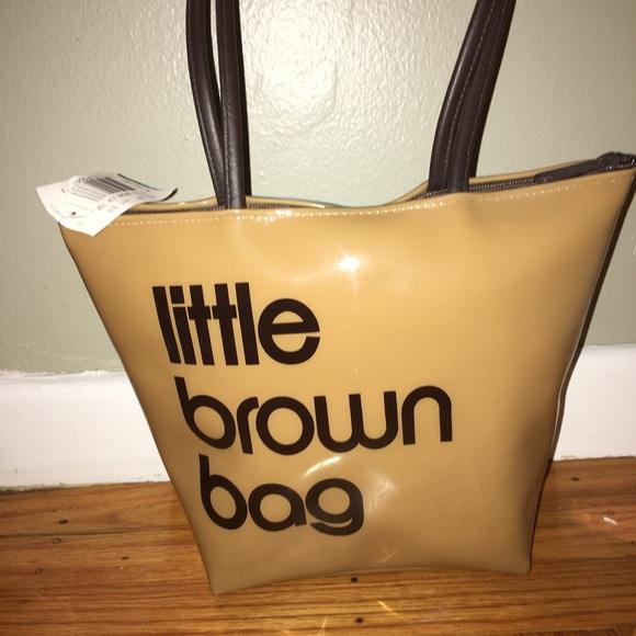 5052a79048 Bloomingdale's Bags | Nwt Bloomingdales Little Brown Bag Purse ...