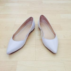 Loeffler Randall Lavender Leather Pointed Flat