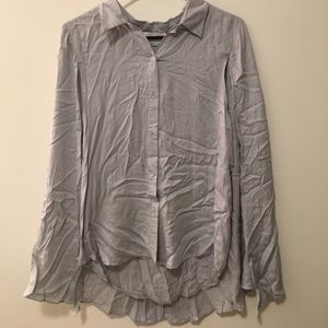 Stylestalker button up shirt with cape
