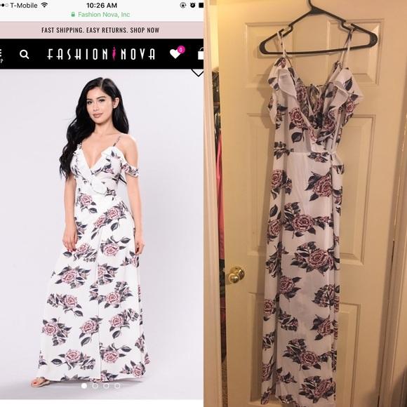 a1ce9c62df56b Fashion Nova Dresses | Floral Maxi Dress | Poshmark