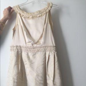 Vivienne Tam cream dress