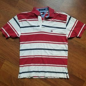 VINTAGE Tommy Hilfiger Polo Mens Size Small