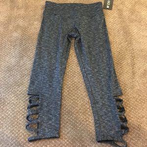 Onzie Heather Grey Capri Leggings