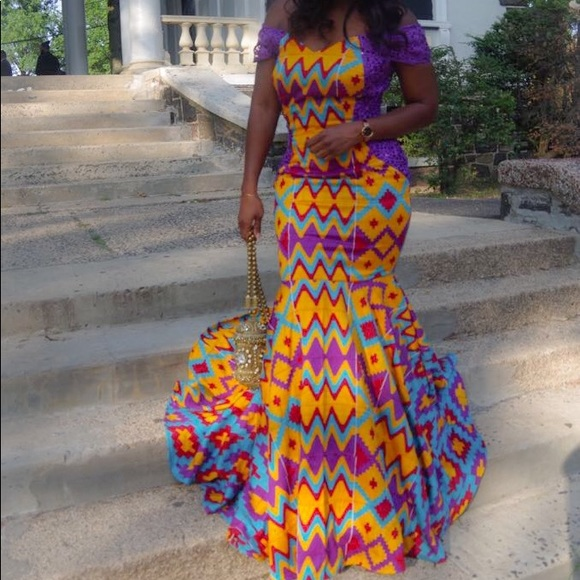 Ghana Lace Dress