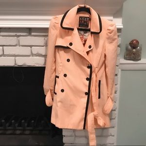 Forever 21 twist trench coat