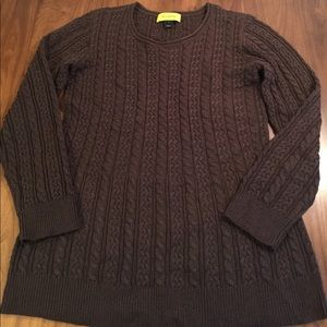 St. John Cable Knit Sweater
