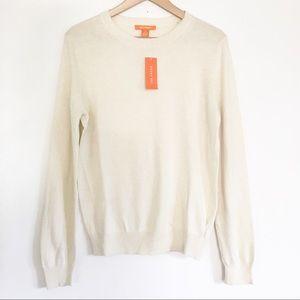 NWT Joe Fresh Cotton Cashmere Crewneck Sweater
