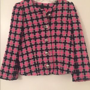 Marc by Marc Jacobs Pink and Navy Jacket