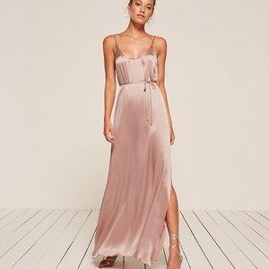 Reformation Iris Dress in Blush