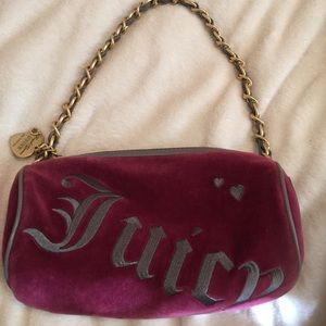 Juicy Couture maroon purse!