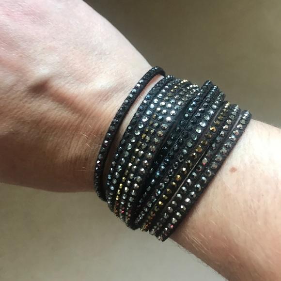 a077404f4 Swarovski Crystal Slake Wrap Bracelet. M_59be7febbcd4a71887077ade
