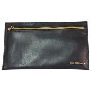 Vintage Balenciaga soft sunglasses storage case
