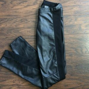 H&M faux leather pants NWT
