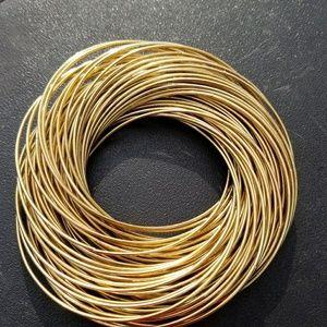 Jewelry - 79 Goregous connected bracelet lot