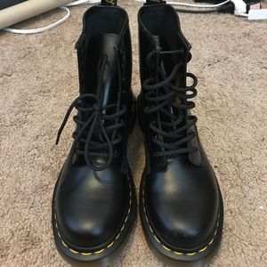 Never worn Dr. Martens 1460 with bouncing soles. 6