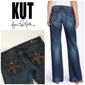 Kut from the Kloth So Low Flare Leg Jeans 👖