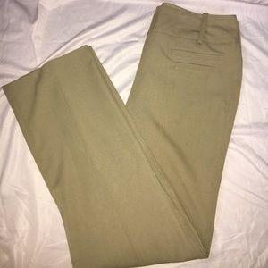 Brown high waisted elegant pants