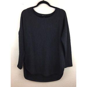 Eileen Fisher Gray Long Sleeve Sweater