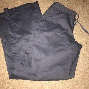 Pants - Gray scrub pants