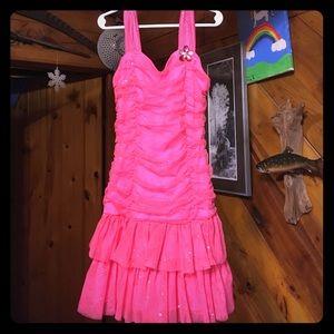 Cute sparkle dress size 8 Girls.