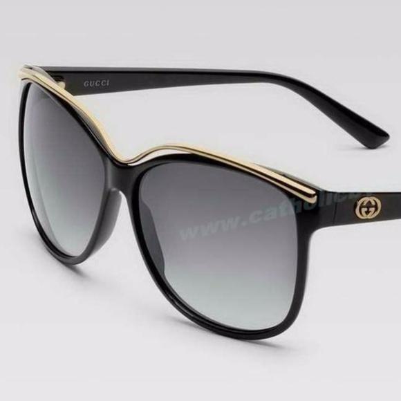 5301a94efe Gucci Accessories - Gucci GG 3155 S D28 JJ Black Sunglasses