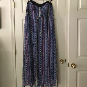 Plus Size Torrid Strapless Dress