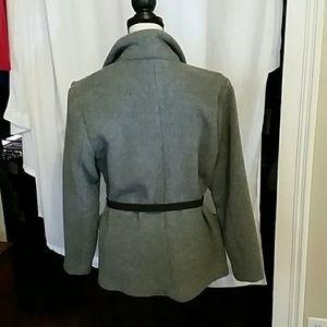 Emu Jackets & Coats - EMU Australia Gray Lake Eliza Merino Wool Coat Lg