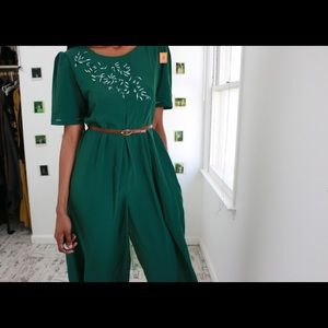 Pants - Emerald Flare Pant Dress