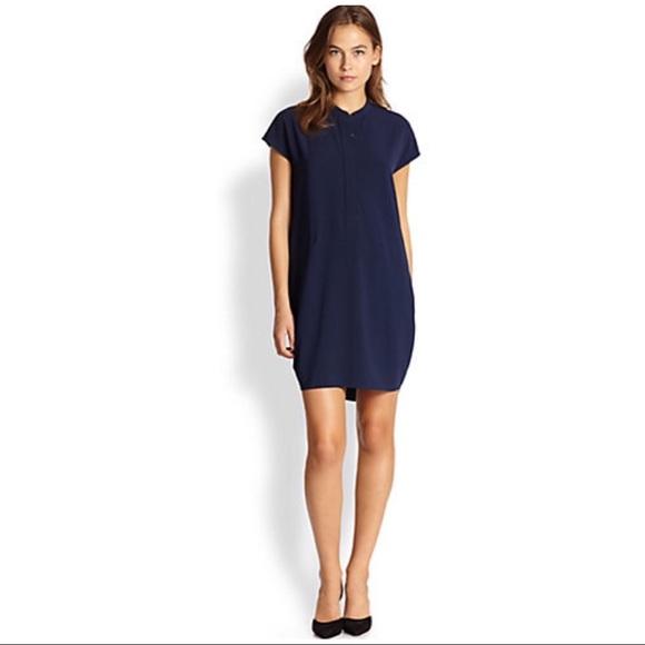 258db3f02e9 Vince navy shift dress with pockets. M 59be961b291a35c0f307d793
