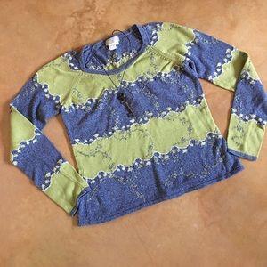 Isabela Bird (Anthro) 100% cotton sweater