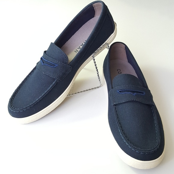 Nwotcole Haan Mens Penny Loafer Navy
