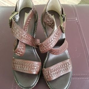Banana Republic wedge sandals.