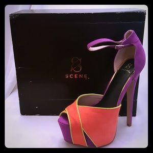 Shoe dazzle Aida Heel