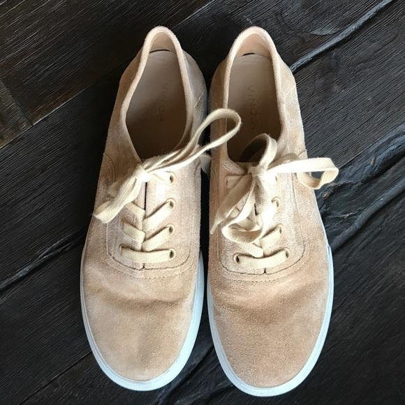 Vince Copley Suede Platform Sneakers exgeIr