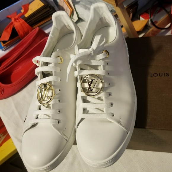 15a0cfa2 LOUIS VUITTON WOMENS FRONTROW SNEAKERS SIZE 41