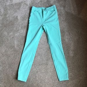 American Apparel high waisted jeggings!