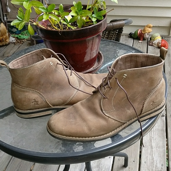 great discount for huge selection of competitive price Original Penguin Merle Chukka Boots - Size 10