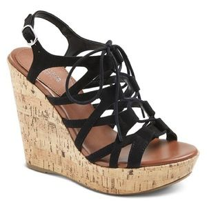 Mossimo Selena Gladiator Wedge Sandals