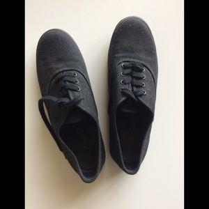 ALDO All Black Lace up shoe