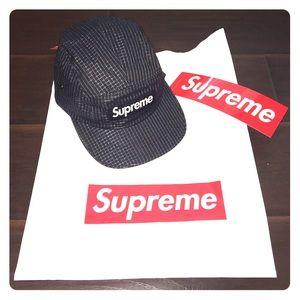 ***AUTHENTIC SUPREME CAMP CAP***