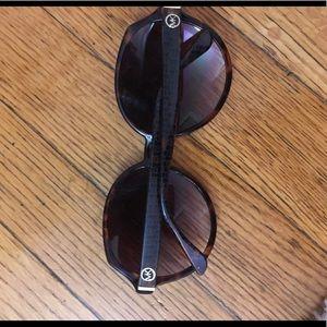 Michael Kors brown round sunglasses
