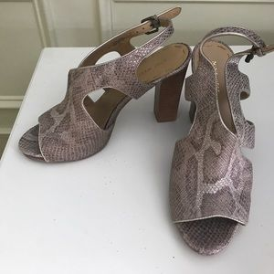 Nine West Python Inspired Shoes