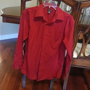 Other - George boys s/ch 14 14.5 red dress shirt.