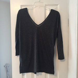 Urban Outfitters Gray v-neck