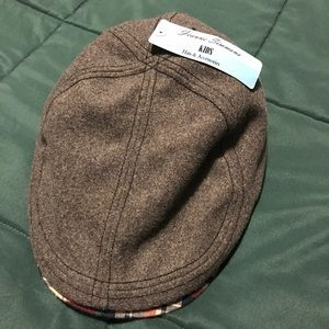 NWT plaid and flannel Newsie hat from Chapel hats.