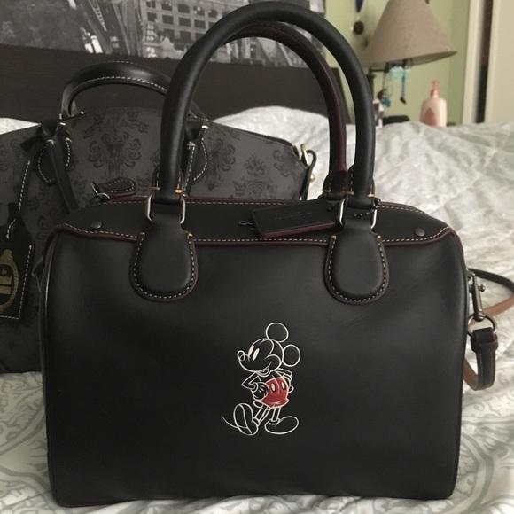 d6b34a31a60fad Coach Bags | Nwt Disney X Mickey Bennett Purse | Poshmark