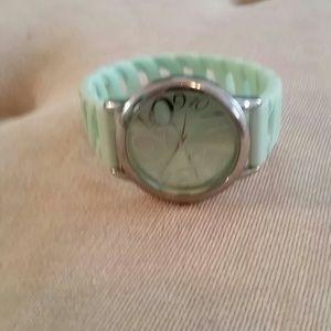 Mint Green Avon Jelly Watch
