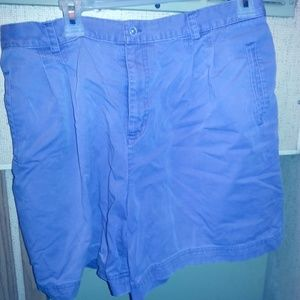 Womens Rafaella Purple Shorts Sz 14